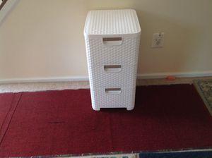 White weaver plastic drawer for Sale in Alexandria, VA