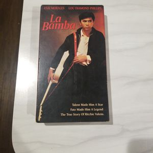 (LA BAMBA ) VHS The Original Move 1987 for Sale in Pasadena, TX