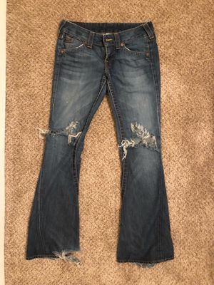 True Religion blue bootcut Jeans size 28 for Sale in Washington, DC