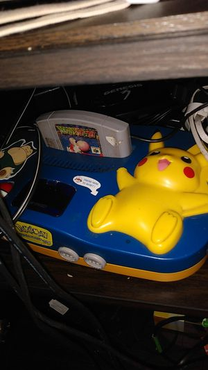 Nintendo 64 pickachu edition for Sale in Lakewood, CO