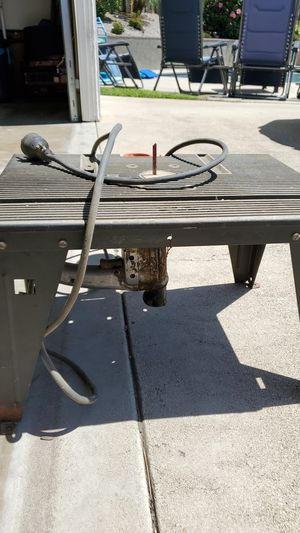Saber saw with table for Sale in Upland, CA
