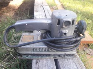 Craftsman commercial dual-motion sander for Sale in Wichita, KS