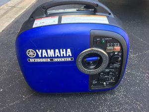 Yamaha EF2000IS Inverter Generator for Sale in Colora, MD