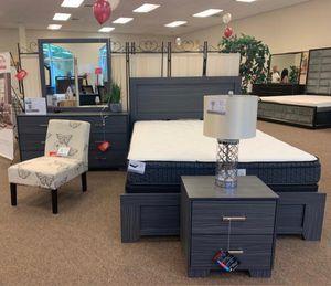 3 Pcs Bedroom Set (Q.Bed + 2 NightStands for Sale in Miami, FL