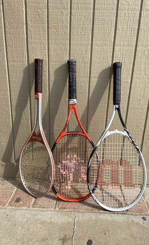 Tennis Rackets ($10 each) for Sale in Costa Mesa, CA