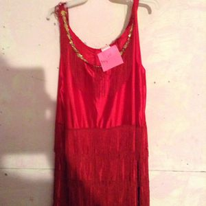 Red Halloween costume dress for Sale in Lakewood, OH