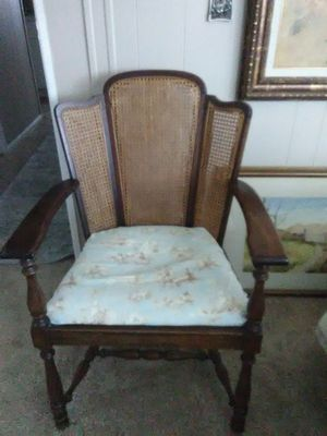 Antique Cane Back Chair for Sale in Brea, CA