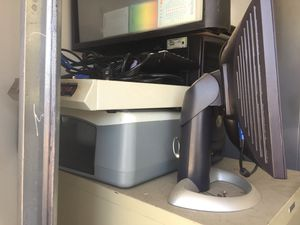 Dell desktop computer monitor and scanner for Sale in Fresno, CA