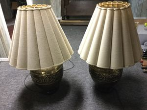 Vintage ornate bronze lamp(s) for Sale in Scarborough, ME