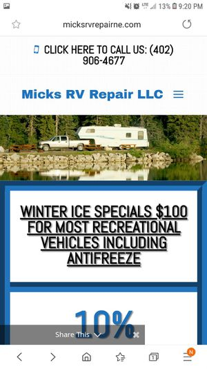 MICKS RV REPAIR for Sale in Bellevue, NE