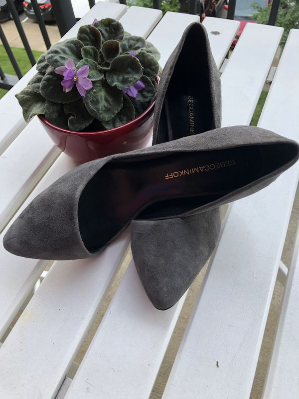Rebecca Minkoff Pumps Leather Brie size 7 Mint Condition