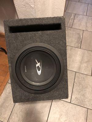 10 inches alpine X 3000 watts for Sale in Boston, MA