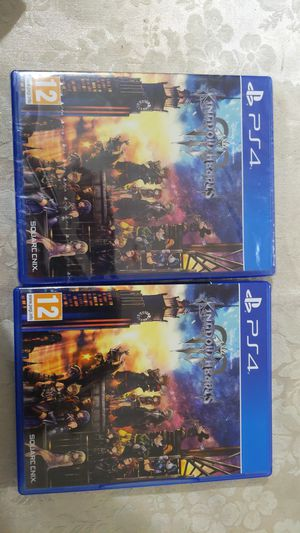Kingdom hearts three -ps4(french case) but game is in English with English voice actors for Sale in Sacramento, CA