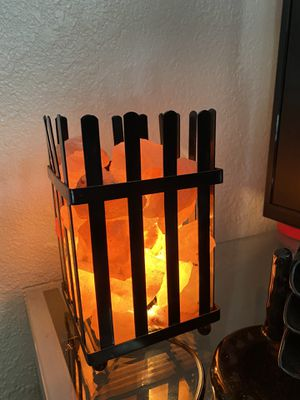 Himalayan salt lamp with Incense burner for Sale in Stockton, CA