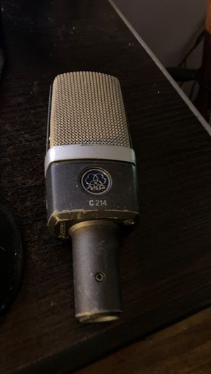 Akg c214 large diaphragm condenser mic for Sale in Downey, CA