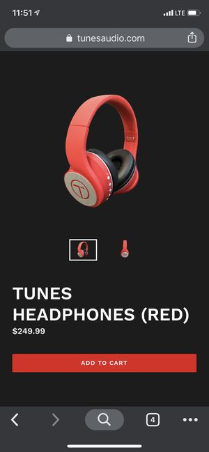 Tunes Bluetooth headphones for Sale in Long Beach, CA