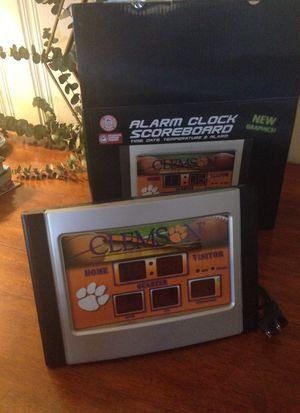 Clemson Scoreboard alarm clock for Sale in Greenville, SC