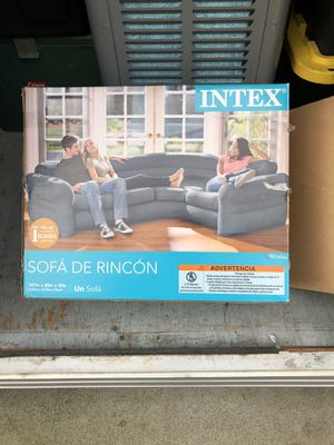 inflatable couch with pump for Sale in Modesto, CA