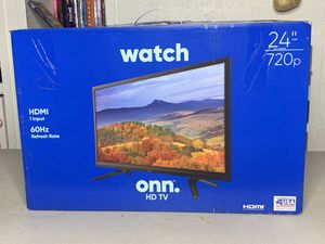 "onn. 24"" Class 720p HD LED TV (100002430) NEW for Sale in Orlando, FL"