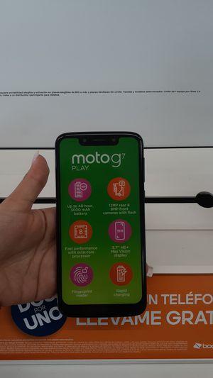 Moto G7 en promocion con boost mobile for Sale in Hialeah, FL