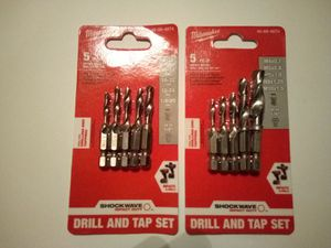New Milwaukee Combination Bit Sets for Sale in Hilliard, OH