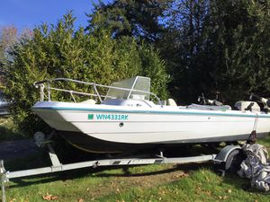 Quick Silver 16' fishing boat for Sale in Poulsbo, WA