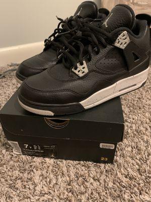 Air Jordan IV 4 Retro BG Size 7 Youth Boys Shoe for Sale in La Vergne, TN