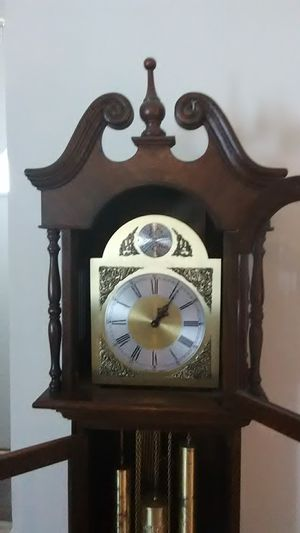 Early 1970's West German Grandfather Clock for Sale in Brentwood, NC