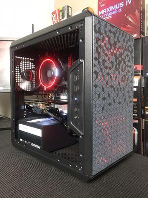 Custom Gaming/Streaming/Editing PC (Ryzen 5 1600x, 8gb ddr4, GTX 1060 OC, M.2 ssd + hdd) for Sale in Riverside, CA