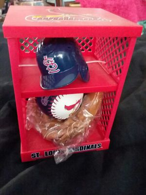 Mini cardinals baseball set for Sale in St. Louis, MO