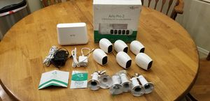 Six Arlo Pro 2 wireless camera system for Sale in Gilbert, AZ