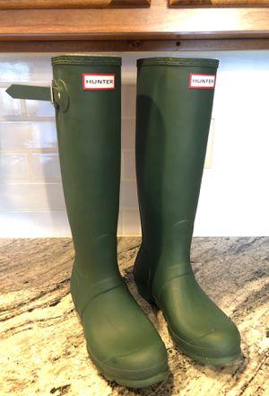 Tall Hunter Rain Boots for Sale in UPPER ARLNGTN, OH