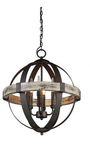 Castello 4 light black chandelier for Sale in Hawaiian Gardens, CA