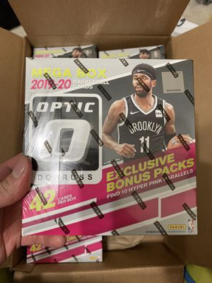 2019 - 2020 Panini Donruss Optic Mega Boxes and Blaster Packs for Sale in Arlington, TX