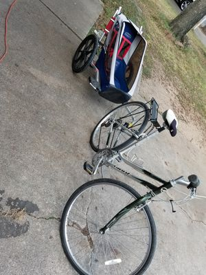"""26""""Giant bike and tryler for Sale in Fort Worth, TX"""