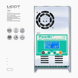 New in box Free delivery PowMr MPPT Charge Controller 60 amp 48V 36V 24V 12V Auto - Max 190VDC Input LCD Backlight Solar Charge for Vented Sealed for Sale in Las Vegas, NV
