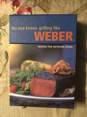 Weber Grilling Cards for Sale in Cheyenne, WY