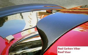 1990-1997 Mazda Miata Real Carbon Fiber Roof Spoiler Window Visor Vent Wing (HardTop Only) for Sale in ROWLAND HGHTS, CA