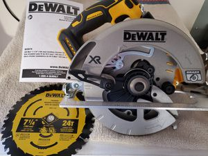 """Dewalt DCS574 20V Max XR Brushless 7 1/4"""" - Tool Only for Sale in Vancouver, WA"""