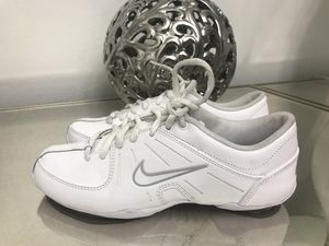 e6e75feca29 Nike Air Mix Down 2 White Leather Cheerleading Dance Shoes Women s Size 5  for Sale in