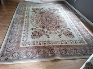 Handmade wool oriental rug for Sale in Clarksburg, WV
