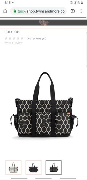Skip Hop diaper bag and wet bag for Sale in Pittsburgh, PA