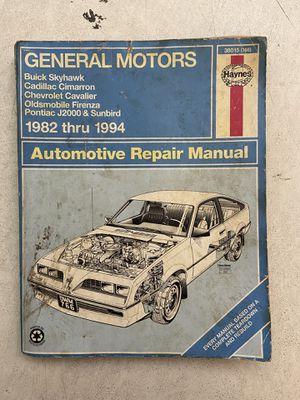 General Motors Repair Manual 82-94 for Sale in Mesquite, TX