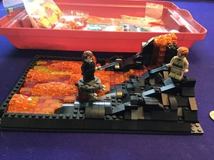 LEGO Star Wars Duel on Mustafar MOC + Extra pieces for Sale in Denver, CO