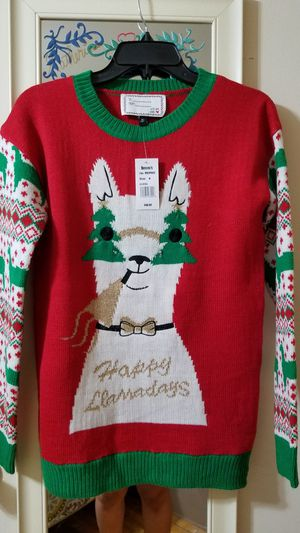Women Llama Ugly sweater (lights up) for Sale for sale  Westfield, NJ