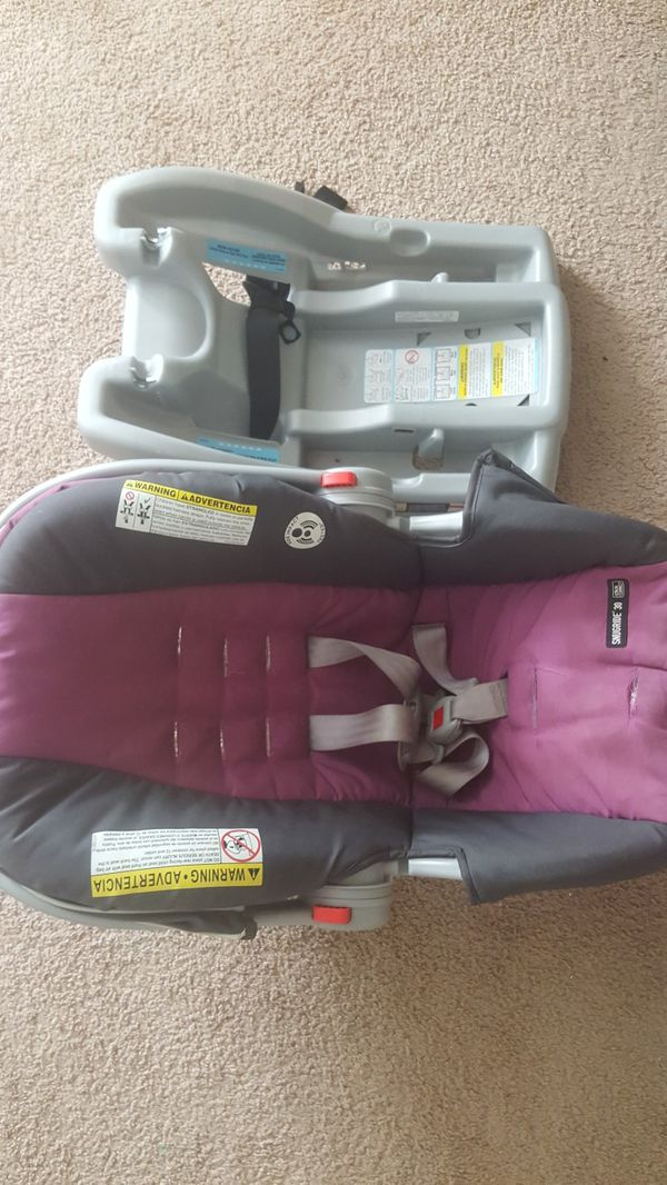 Graco Baby Girl Car Seat with Base