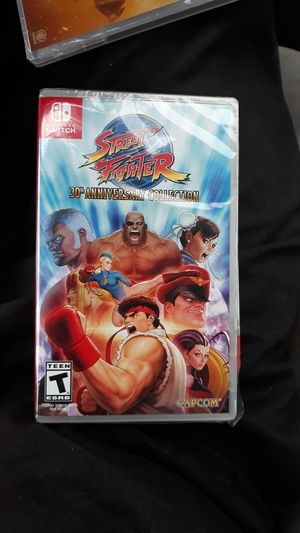 Street fighter 30th anniversary for Sale in Federal Way, WA