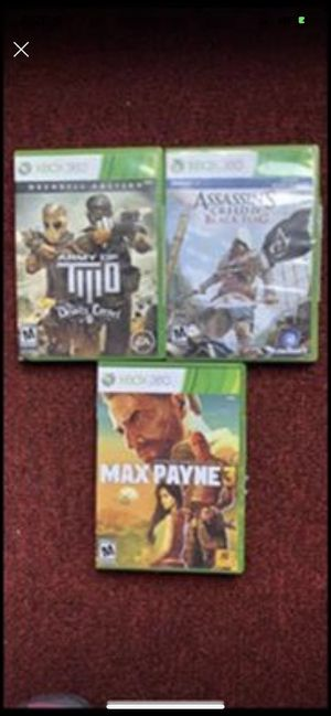 Xbox 360 games for Sale in St. Cloud, FL