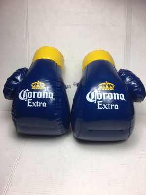Corona extra inflatable boxing gloves corona extra boxing gloves corona extra inflatable corona extra decorations corona extra T-shirt corona extra h for Sale in La Habra, CA