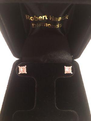 1.94 Princess Cut Diamond Studs for Sale in Oak Creek, WI